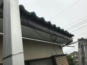 03-5985-2323 塗装工事は株式会社ハートホーム 江戸川区S様の実費負担ゼロで雨樋工事完了