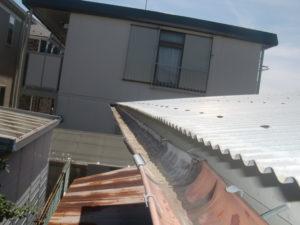 板橋区で火災保険を使って実費負担ゼロの雨樋工事完了報告