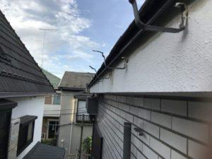 アパートオーナー様から実質負担ゼロの雨樋工事