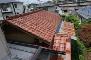 横浜市にて火災保険を利用した雨樋・塗装工事