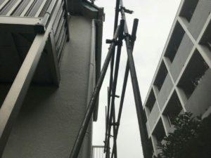 国立市アパート雨樋交換!火災保険活用で実費負担ゼロの雨樋工事を実現