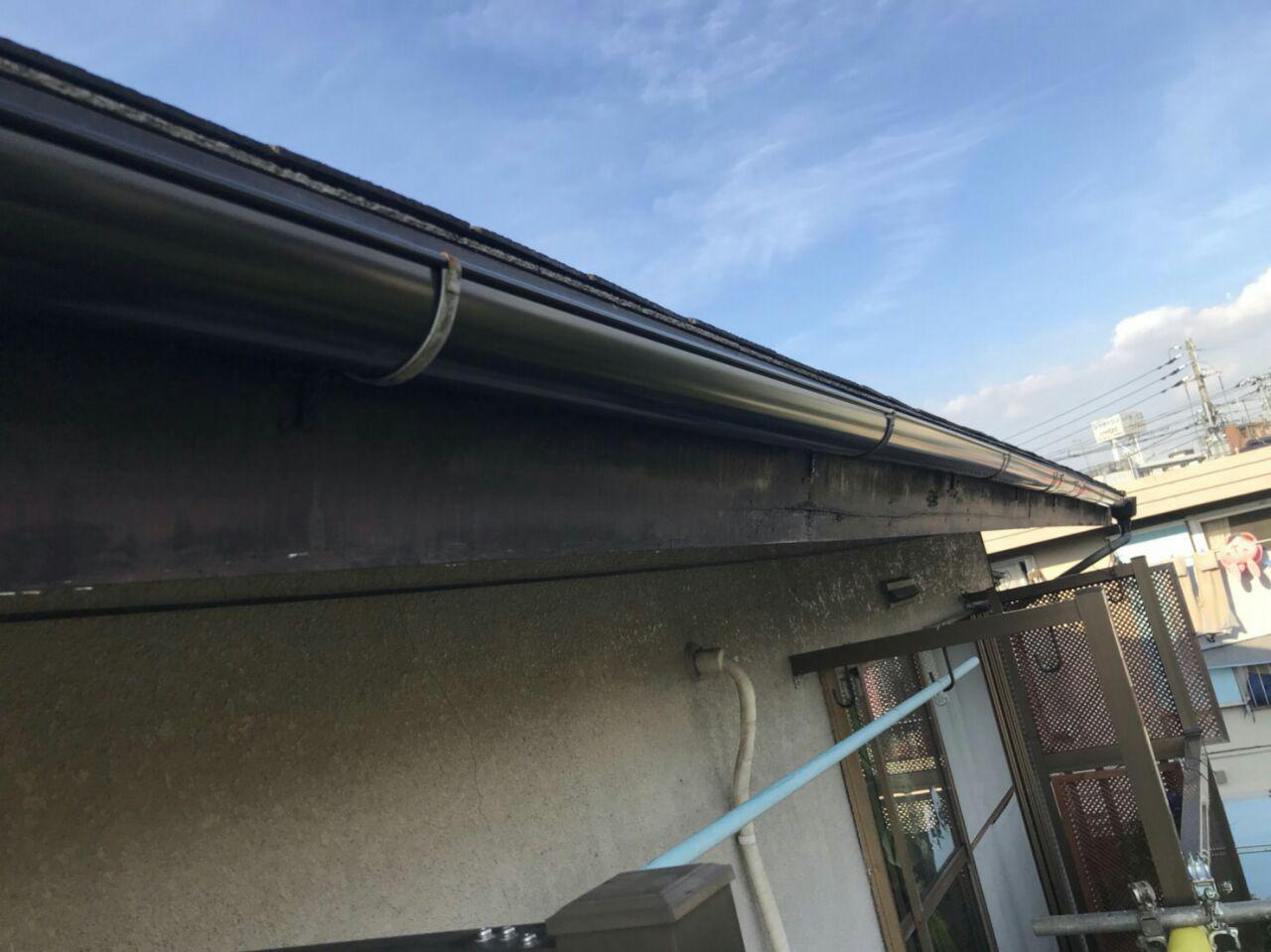世田谷区で火災保険を活用した雨樋工事