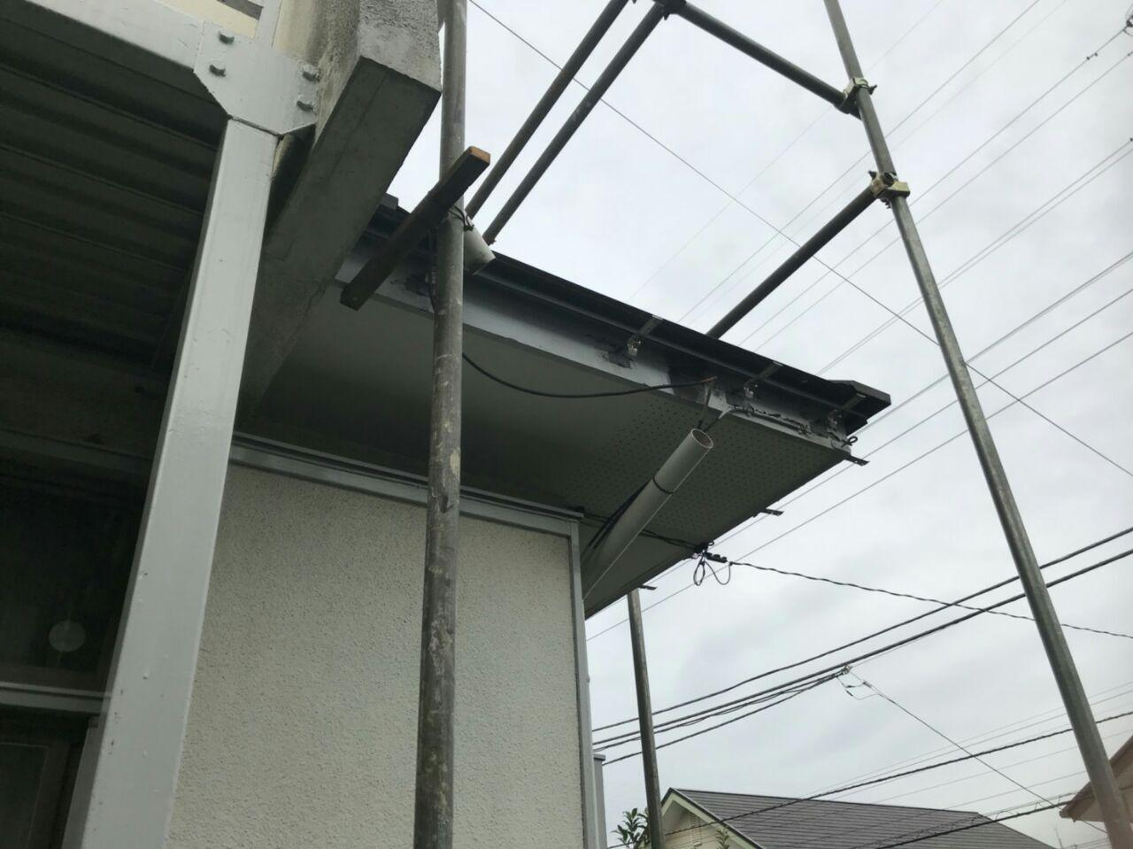 東京都町田市にて火災保険活用で負担ゼロ雨樋工事