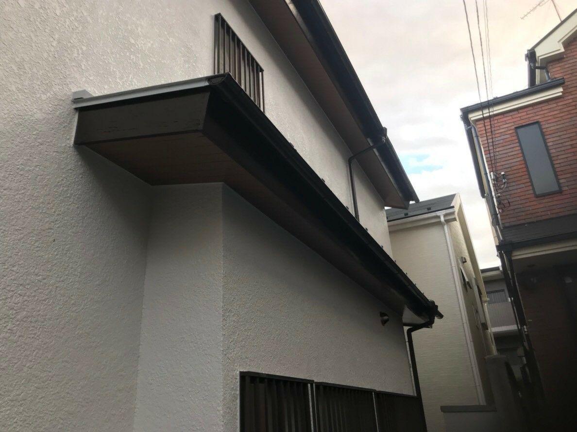 川崎市幸区で塗装工事・雨樋交換工事!住宅保険活用