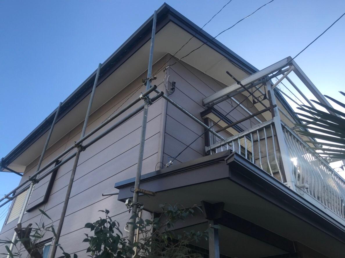 東京都東久留米市で火災保険を申請して雨樋修理工事 - 株式会社ハートホーム