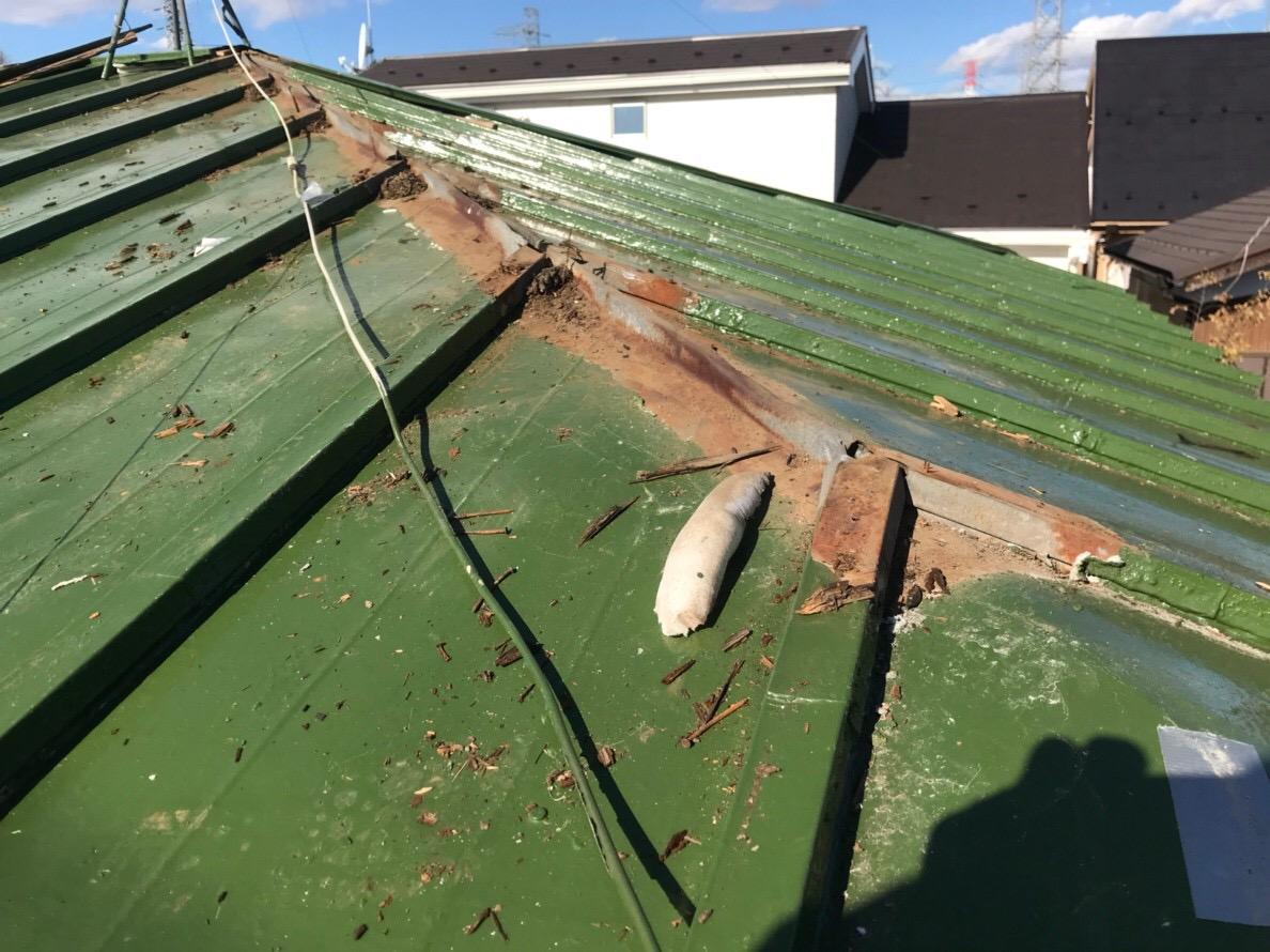 東京都北区にて火災保険を申請し、実質負担なしの屋根修理!