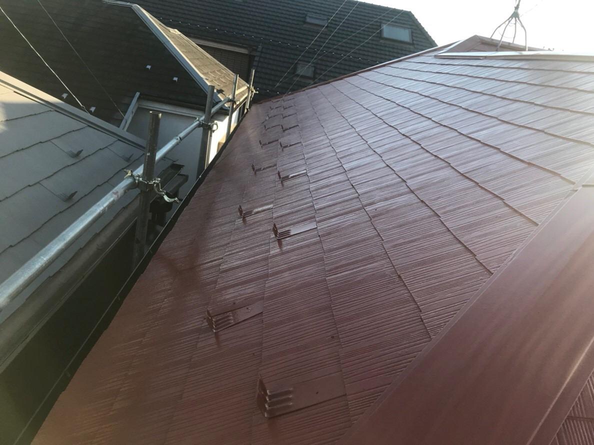 東京都町田市にて火災保険を申請して屋根塗装!実質負担なしのお工事も可能!