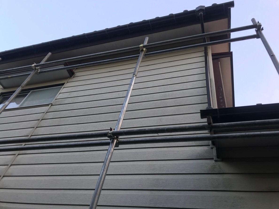 ハートホームで火災保険申請を行い実費負担無料で新品にした雨樋と縦樋