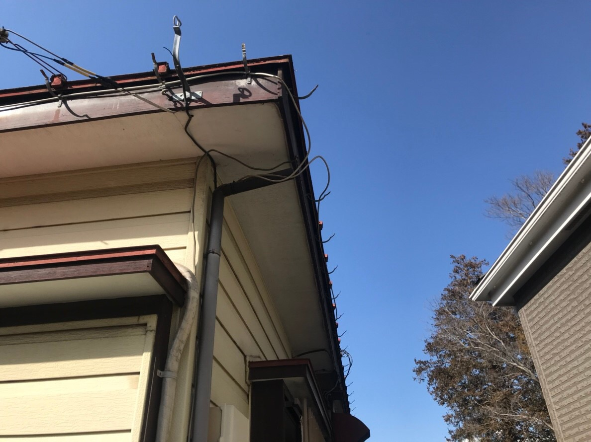 火災保険申請で全額実費負担無料で交換した雨樋と縦樋