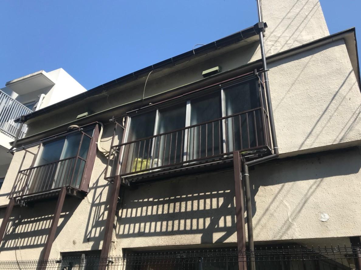 火災保険申請で雨樋無料修理1