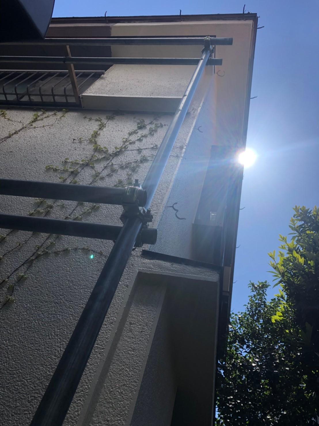神奈川県横浜市で雨樋無料工事4