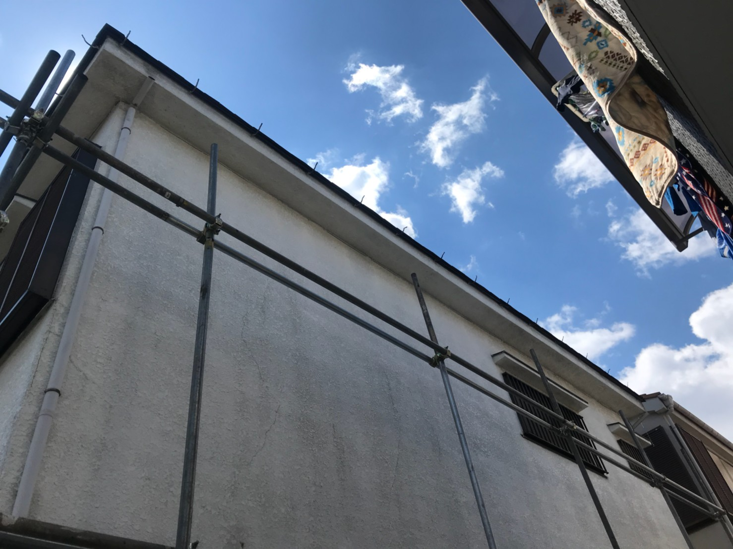 東京都葛飾区で火災保険申請による雨樋無料交換3