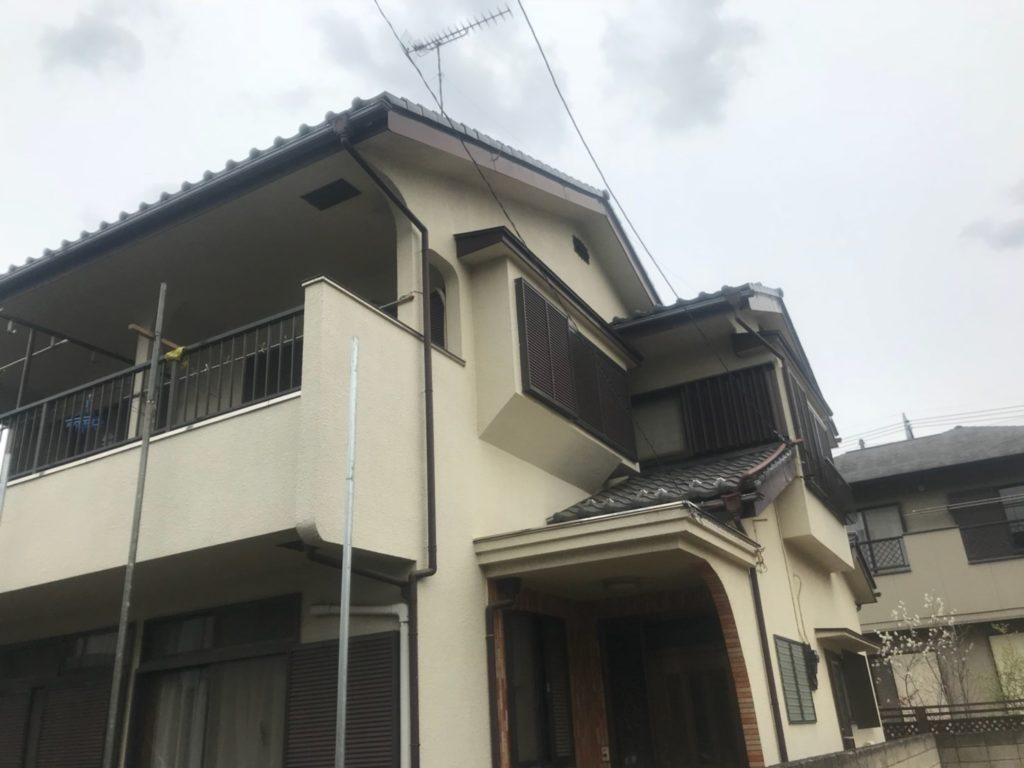 東京都練馬区で屋根雨樋交換修理工事