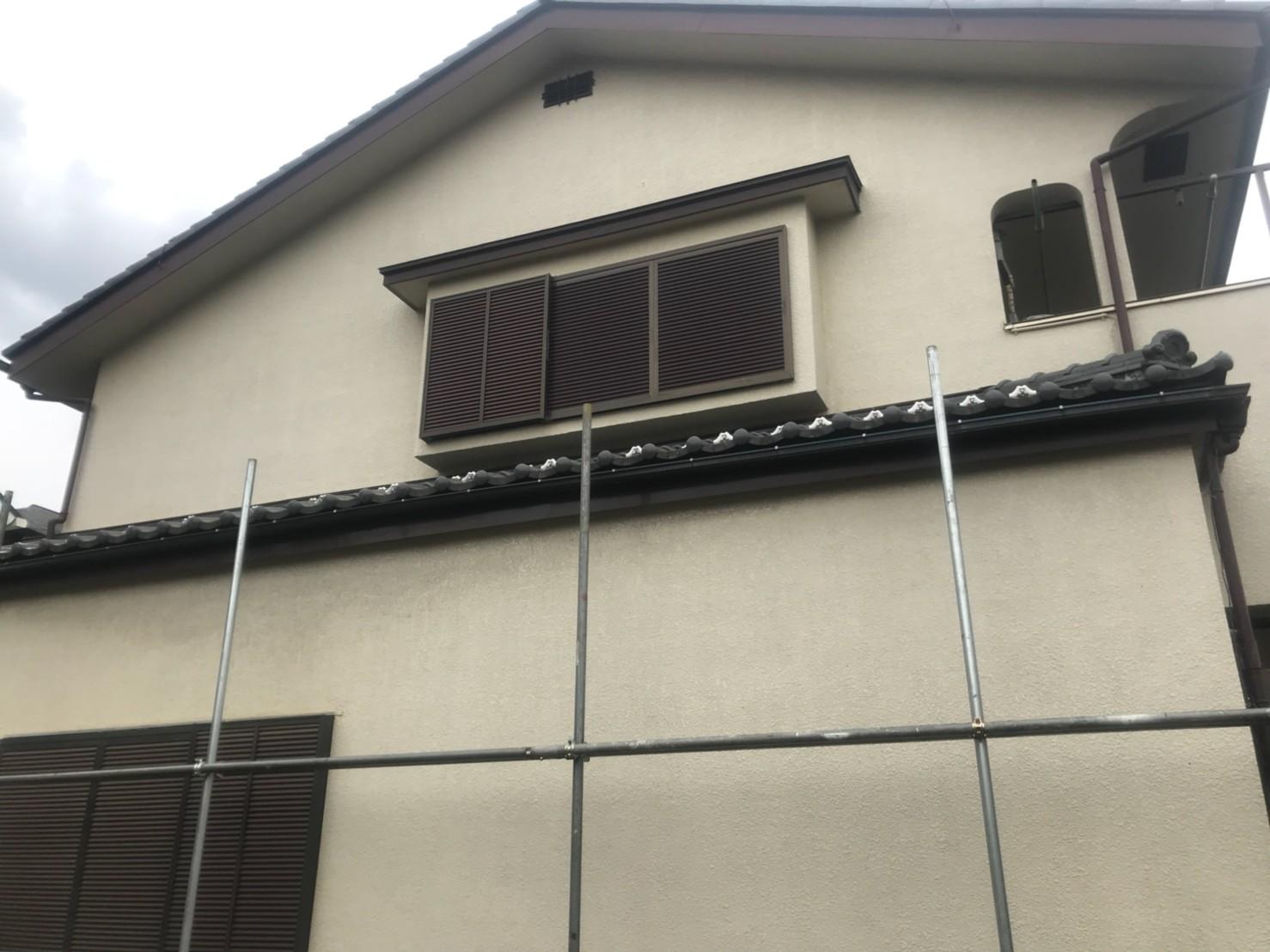 東京都練馬区で火災保険申請による雨樋無料交換3