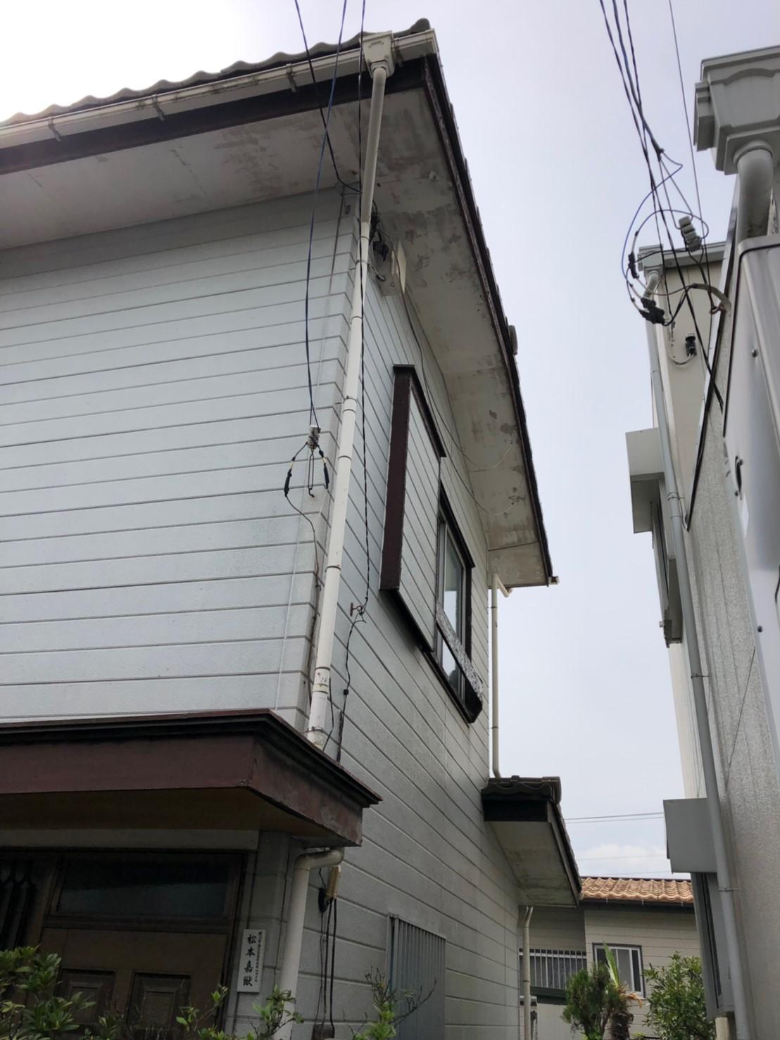 神奈川県横浜市で雨樋無料修理2