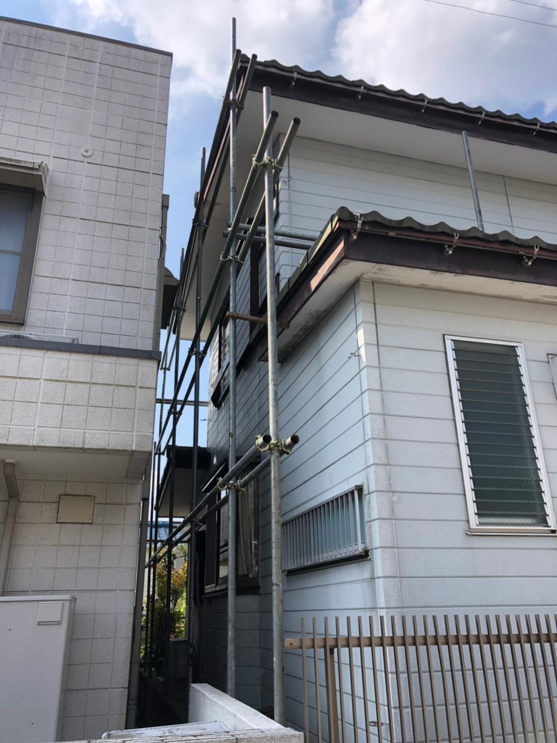神奈川県横浜市で雨樋無料修理5