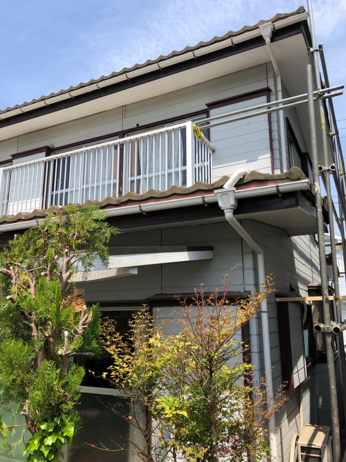 神奈川県横浜市で雨樋無料修理8