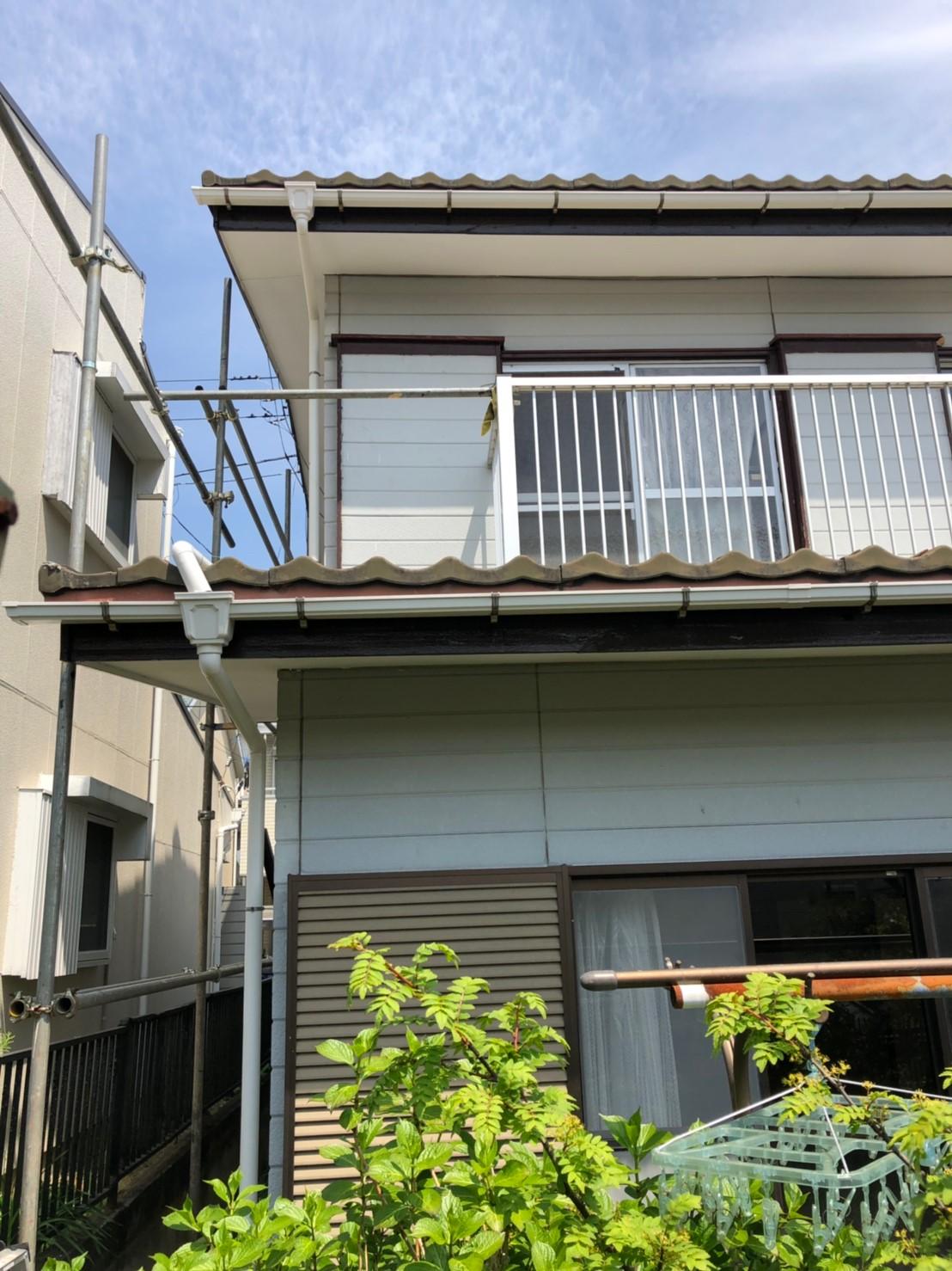 神奈川県横浜市で雨樋無料修理7