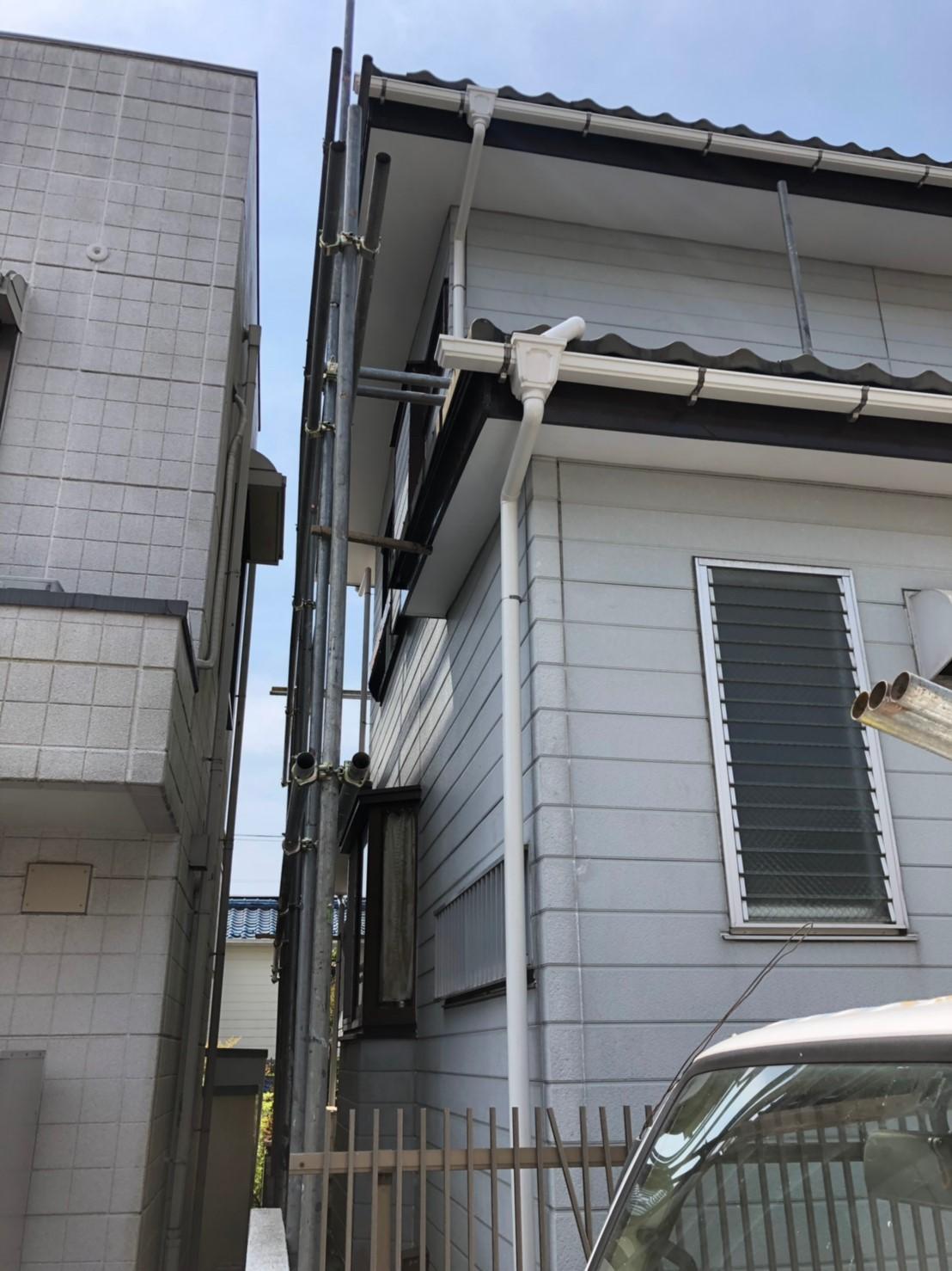 神奈川県横浜市で雨樋無料修理6