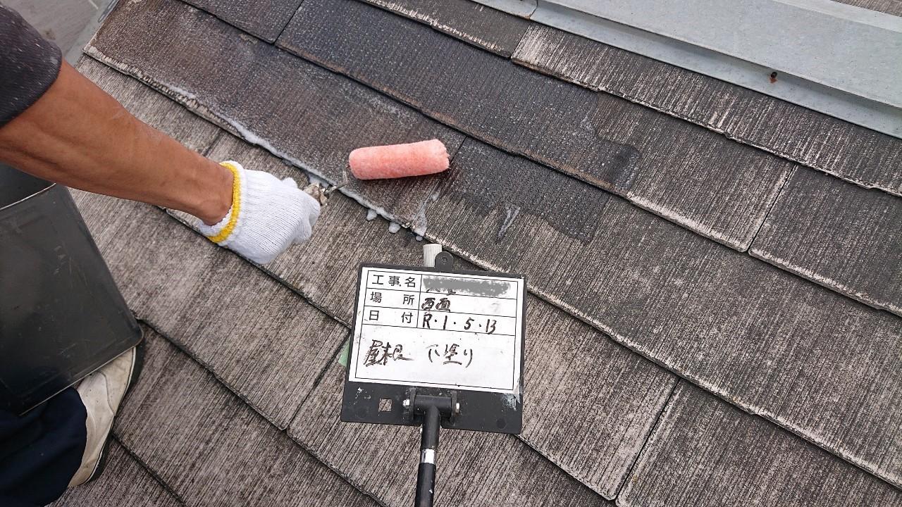 火災保険申請で自然災害での傷みを修理し屋根塗装も同時施工2