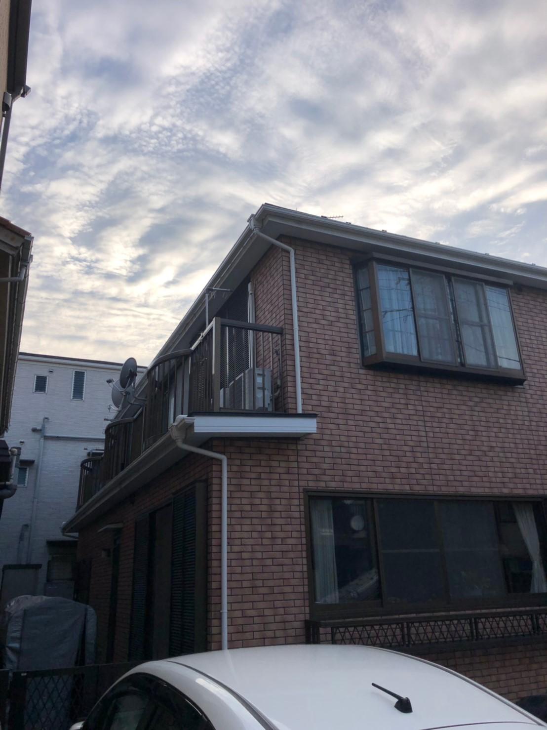 神奈川県鶴見区で雨樋無料交換を実施9