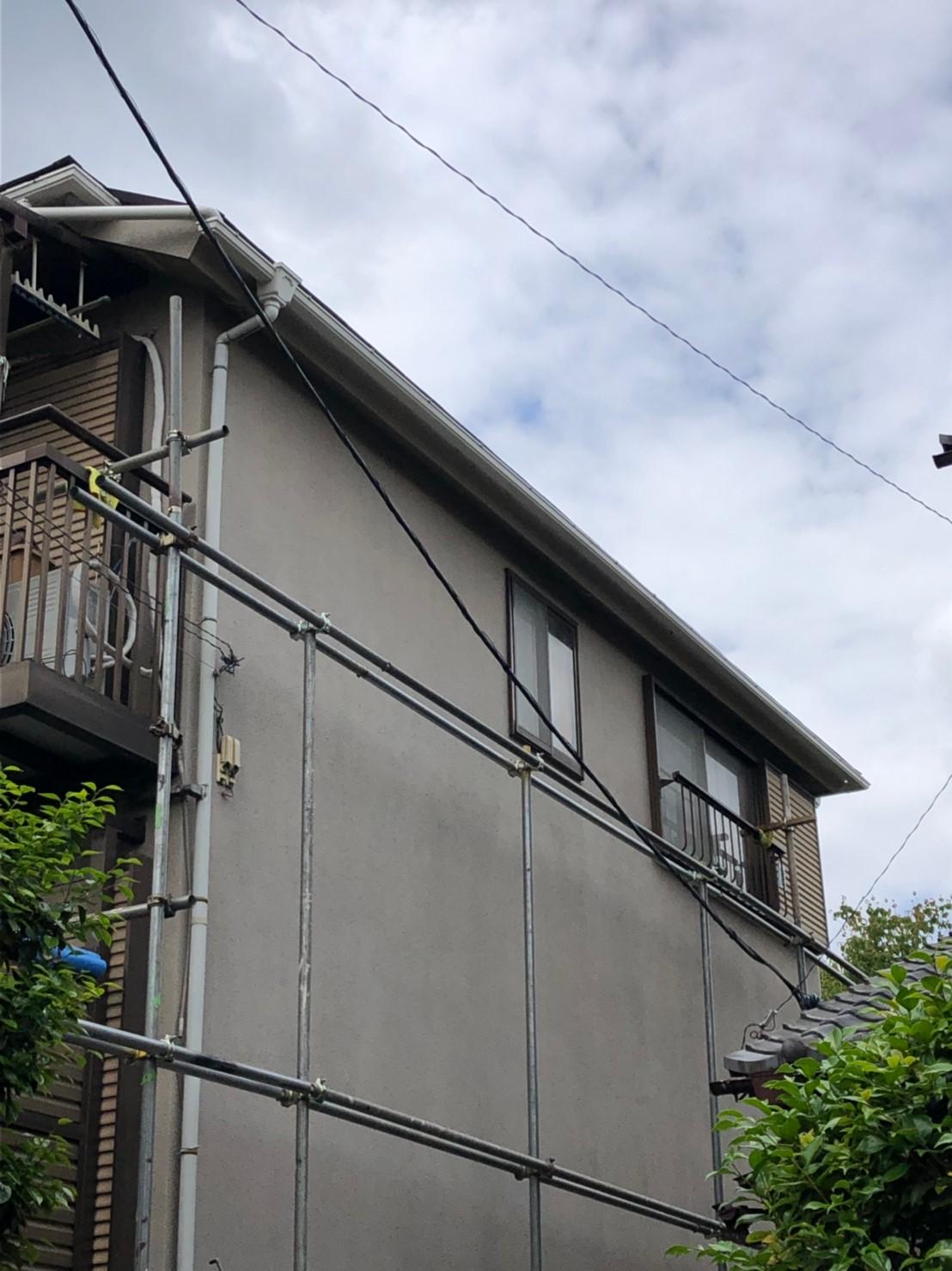 東京都町田市で雨樋を実費負担無料修理のご報告7