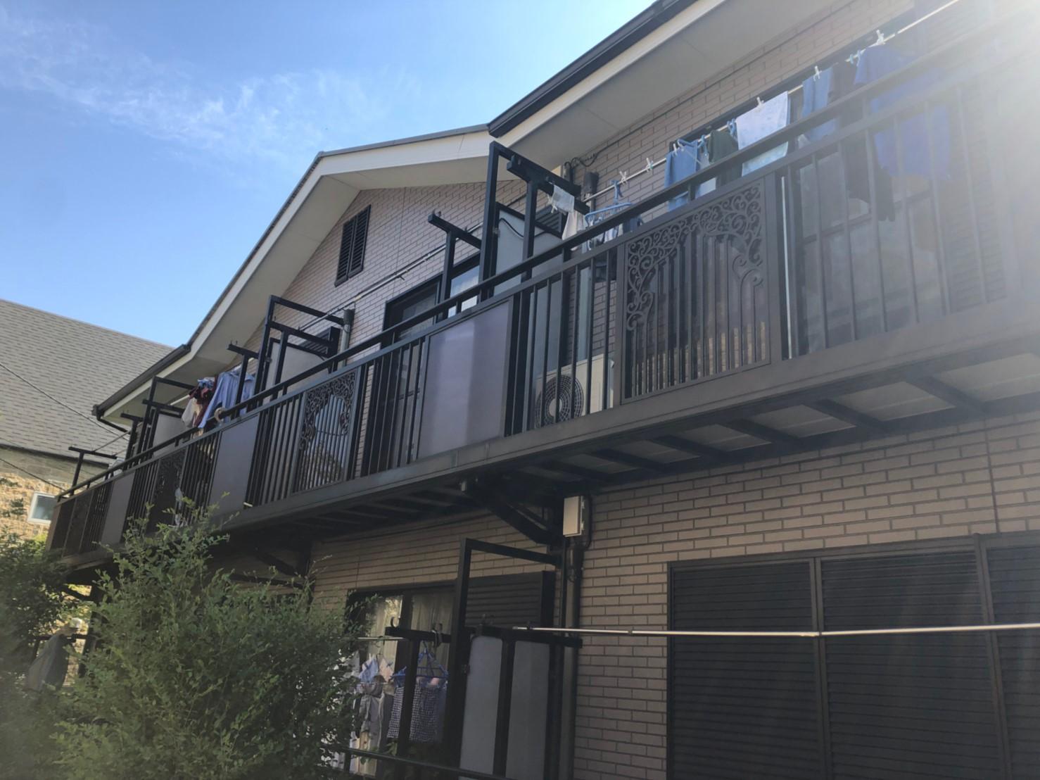 東京都国立市のアパート全体の塗装リフォームのご報告1