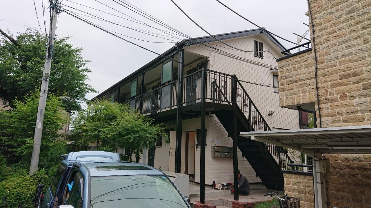 東京都国立市のアパート全体の塗装リフォームのご報告13