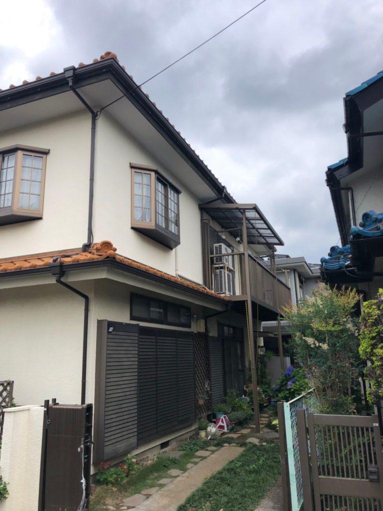 東村山市で台風被害発生!雨樋修理工事