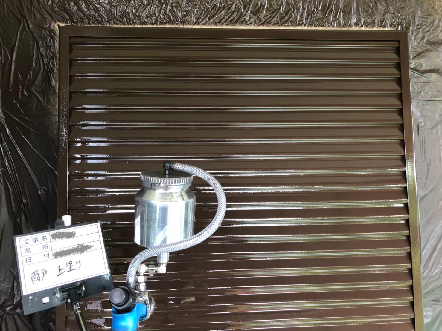 東京都八王子市で雨戸の塗装のご報告4