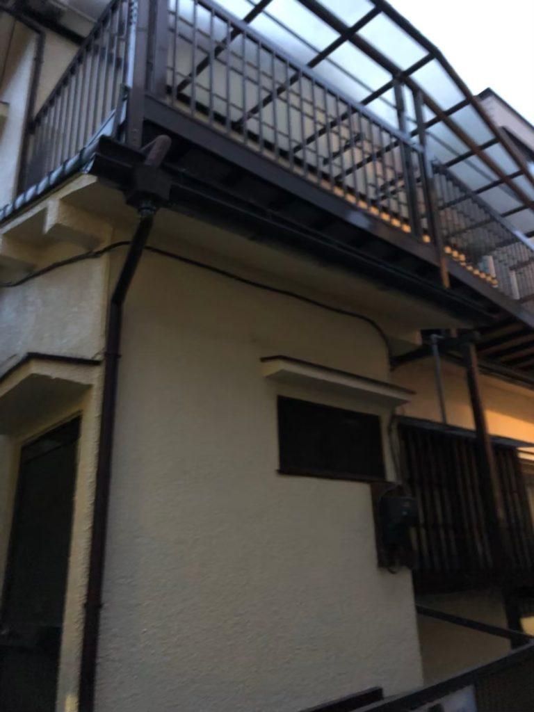 東京都中野区で雨樋実質負担ゼロ修理を実施