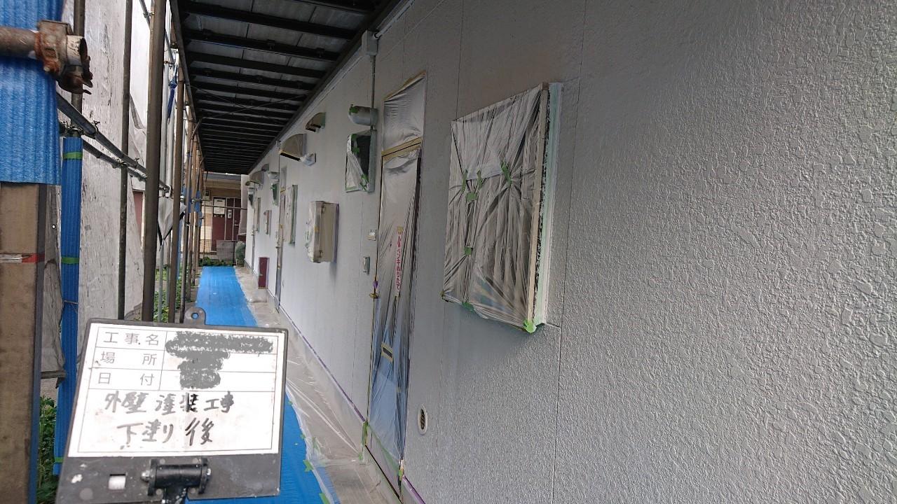 集合住宅の外壁塗装のご報告5