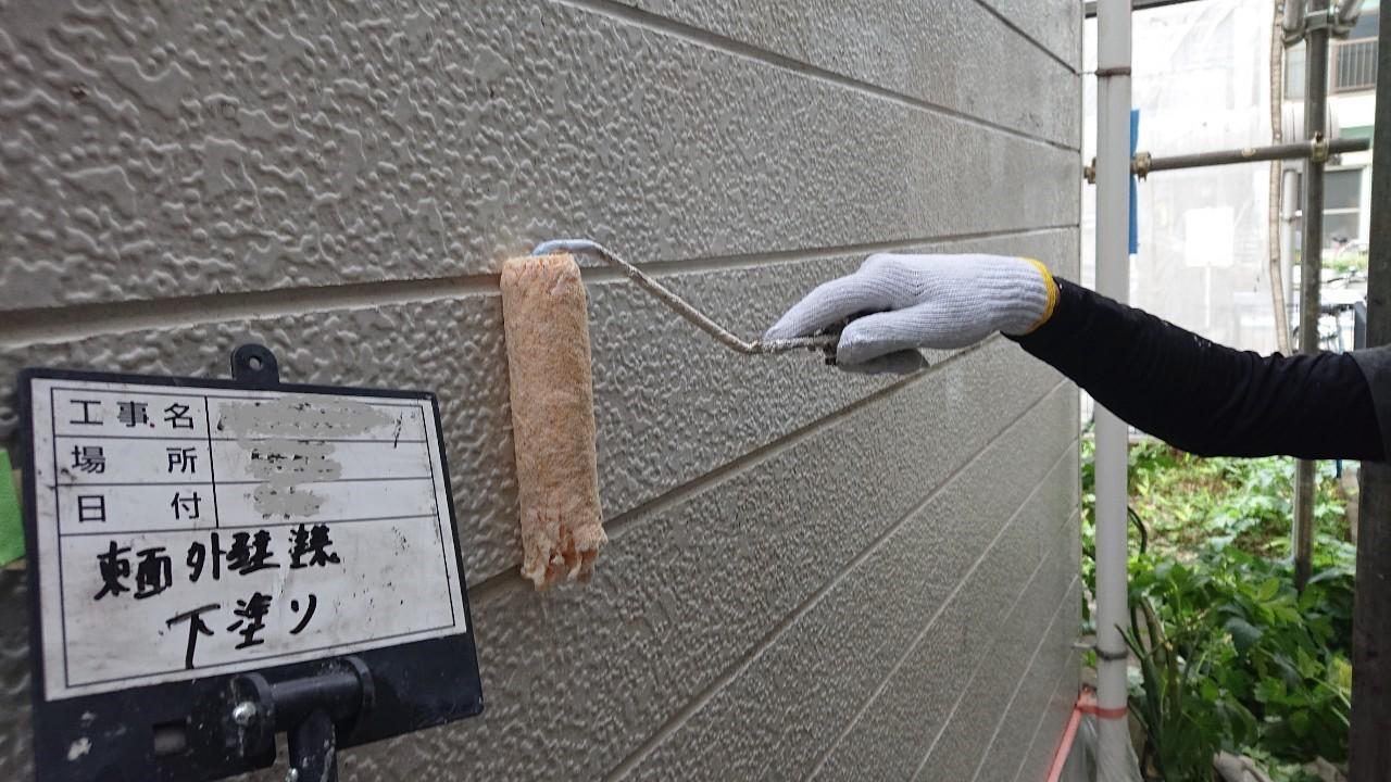 集合住宅の外壁塗装のご報告4