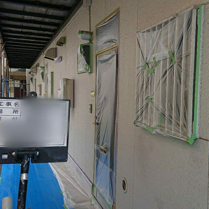荒川区で火災保険活用の屋根外壁塗装と雨樋交換