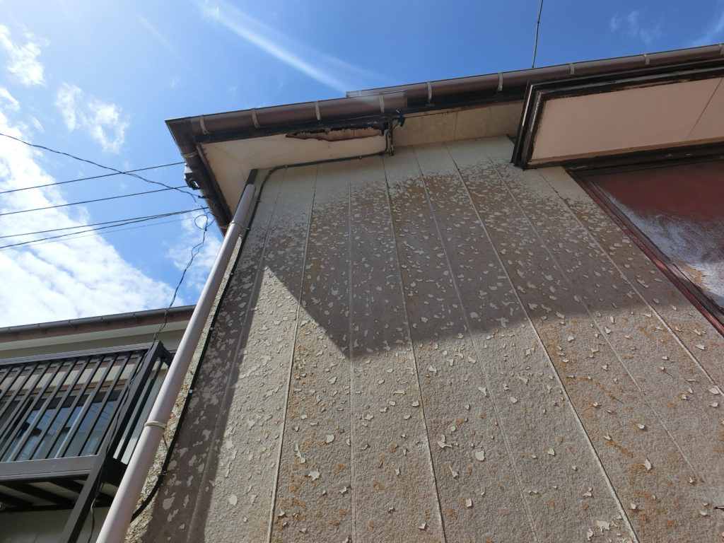 南房総市で台風15号の被害!屋根外壁修理交換工事!