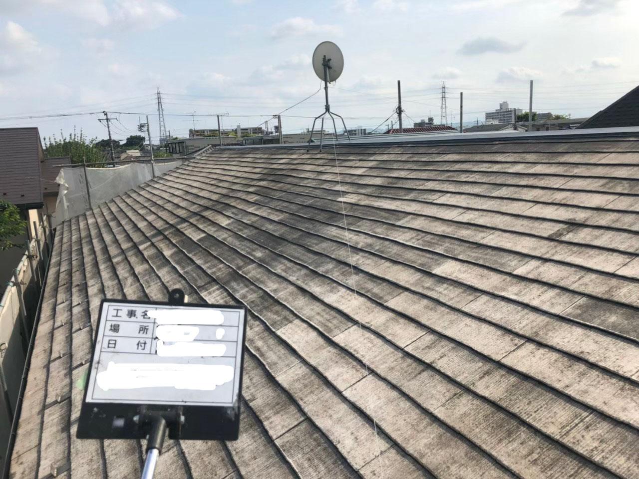 立川市で火災保険活用のアパート屋根外壁塗装