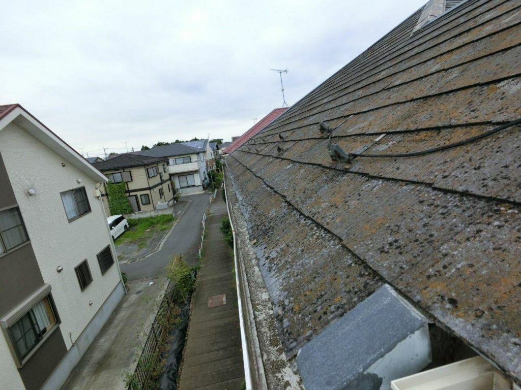 藤沢市で雨樋とケラバ水切り板金の補修工事