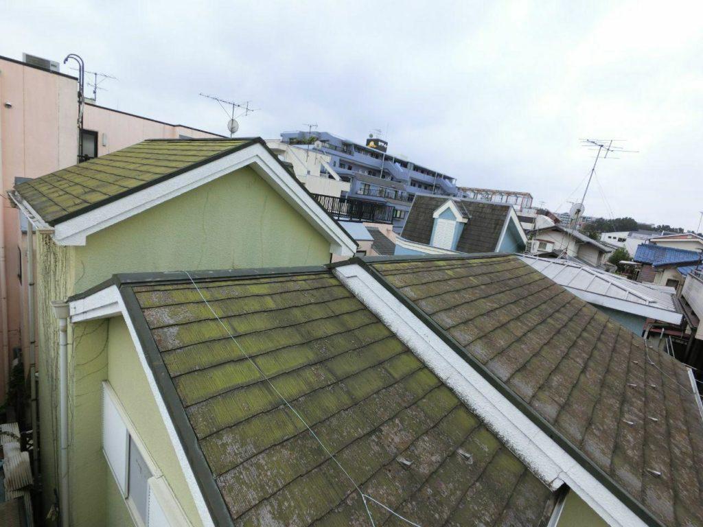 逗子市で火災保険活用の雨どい工事と屋根塗装