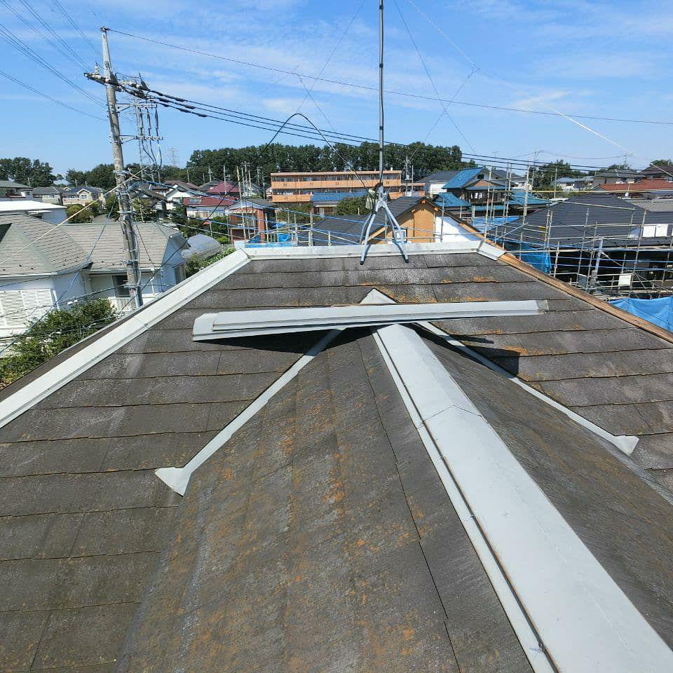 東久留米市で台風15号の損傷を火災保険を使って負担ゼロ工事
