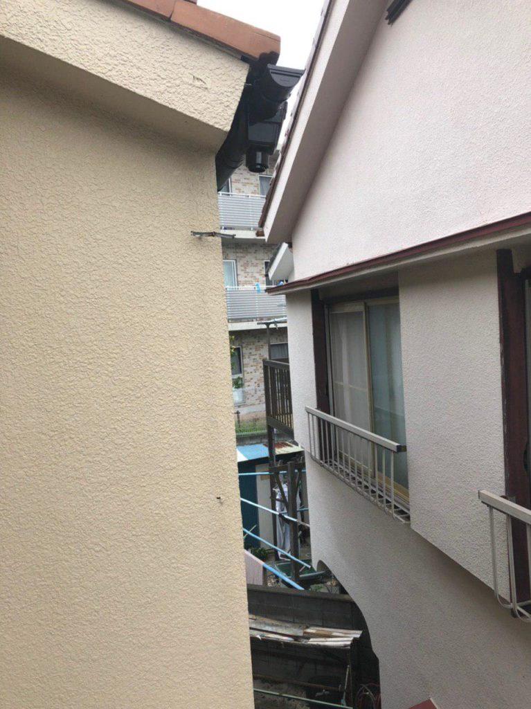 横浜市保土ヶ谷区でも台風15号被害!雨樋修理工事
