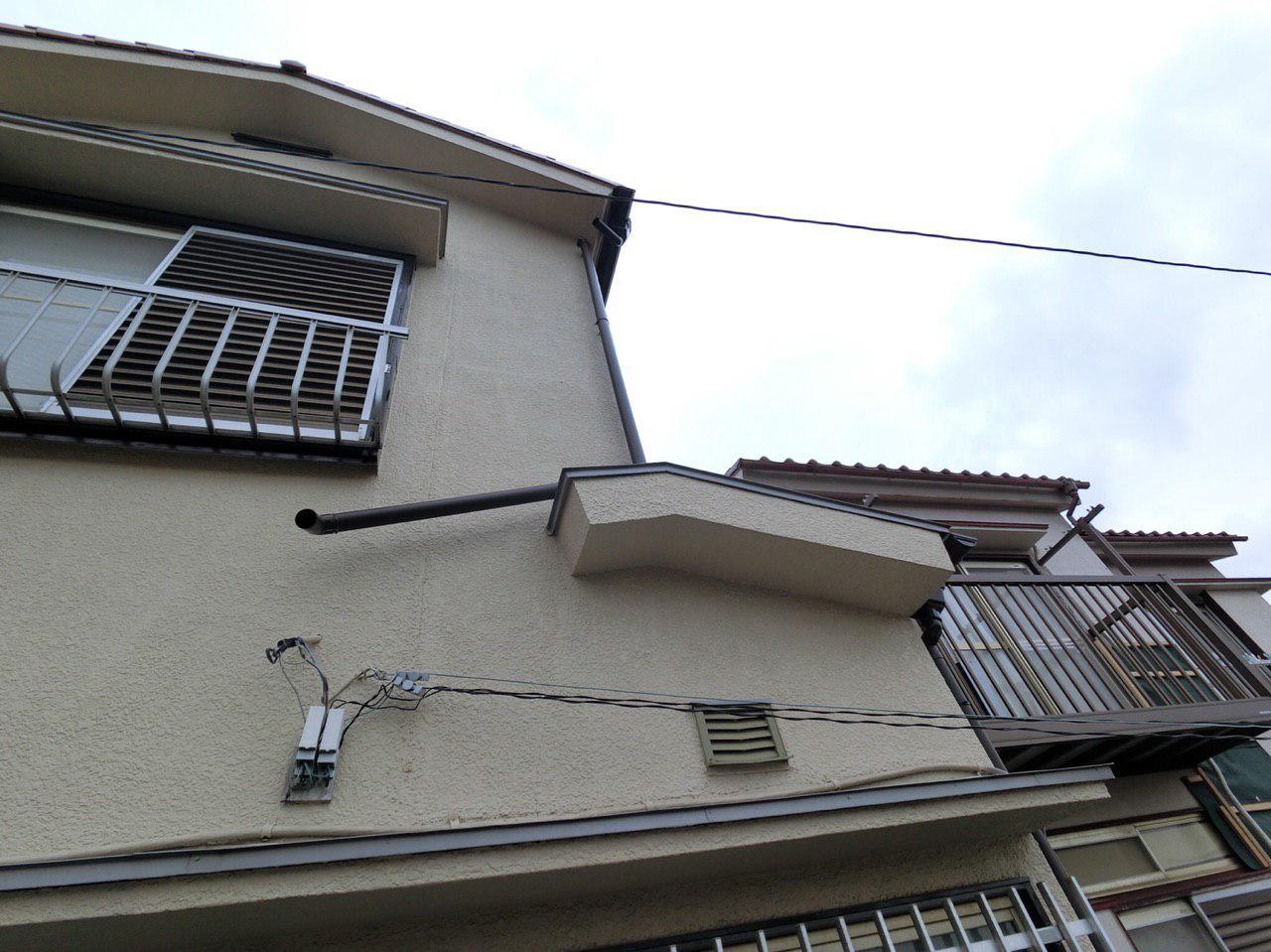 横浜市保土ヶ谷区で台風15号の被害!雨樋を火災保険で実費負担ゼロ工事