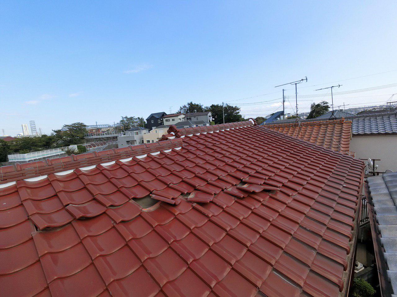 横浜市で台風15号の被害!屋根・外壁の損傷を火災保険を使って修理する!