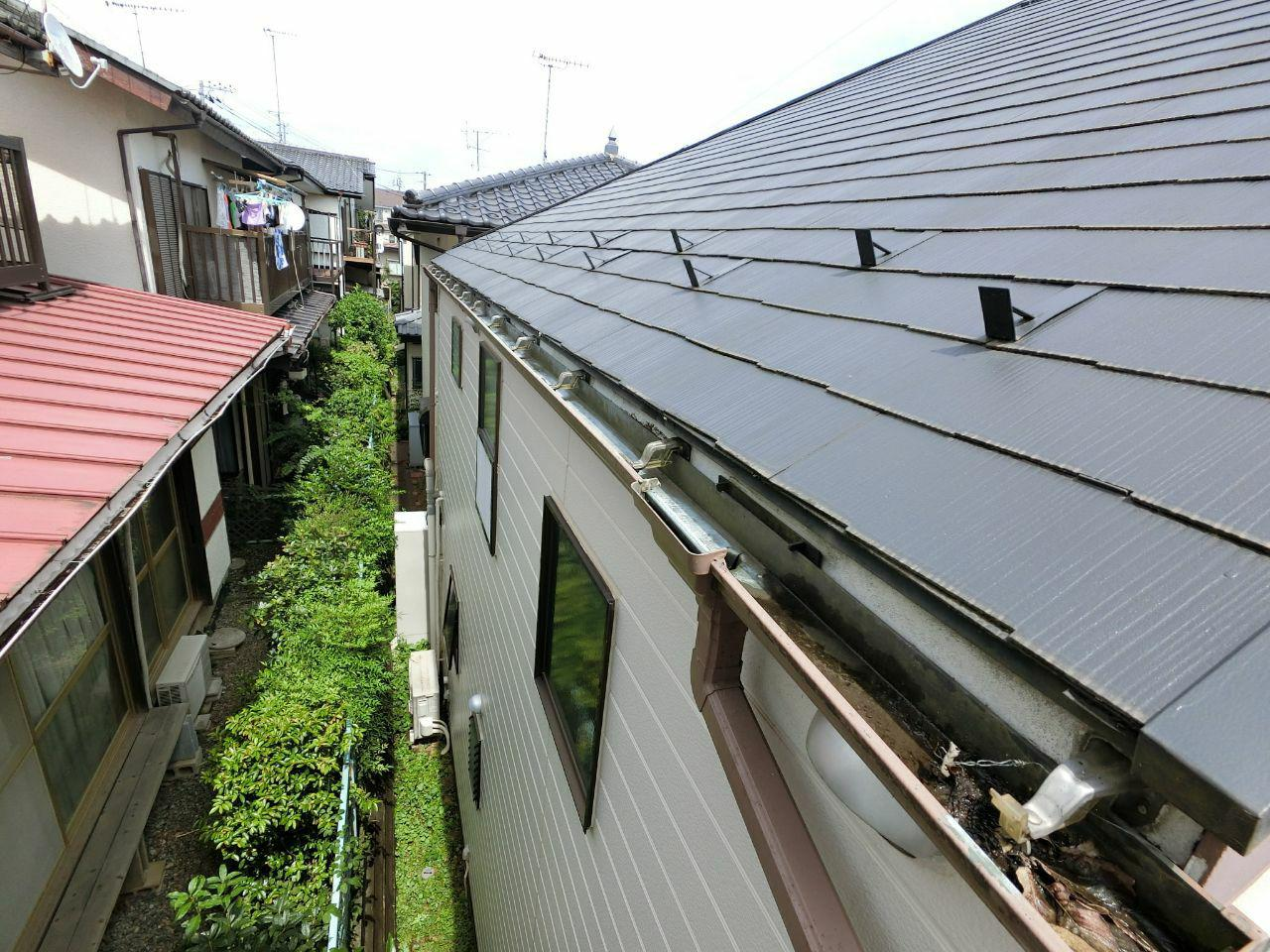 朝霞市で火災保険活用雨どい工事のご報告!実費負担ゼロ工事!
