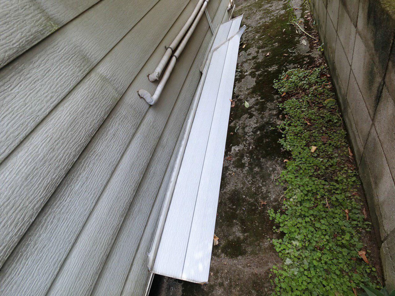 葛飾区で台風15号の被害!火災保険を使って波板交換工事と外壁補修!
