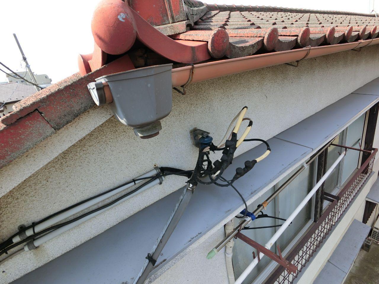 火災保険による実費負担ゼロ工事!世田谷区アパートの風水害に対応