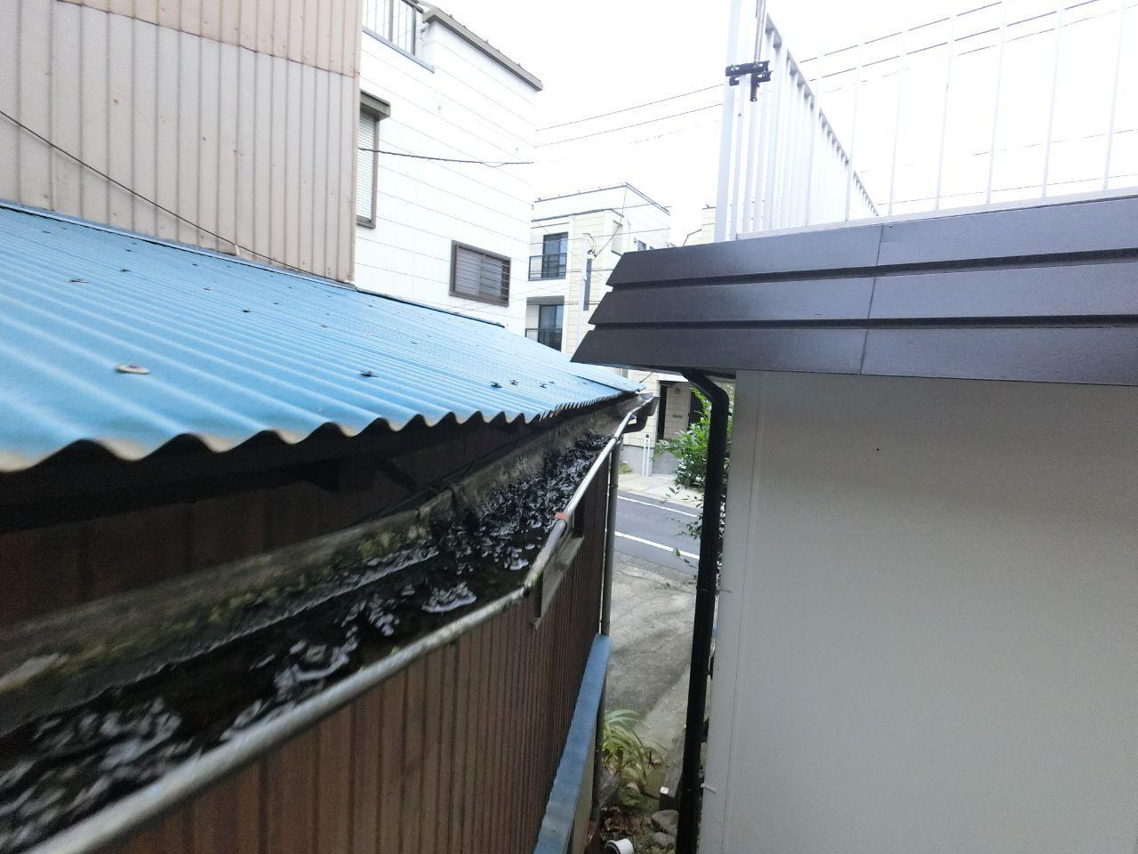 練馬区の屋根雨樋交換修理工事の価格は?