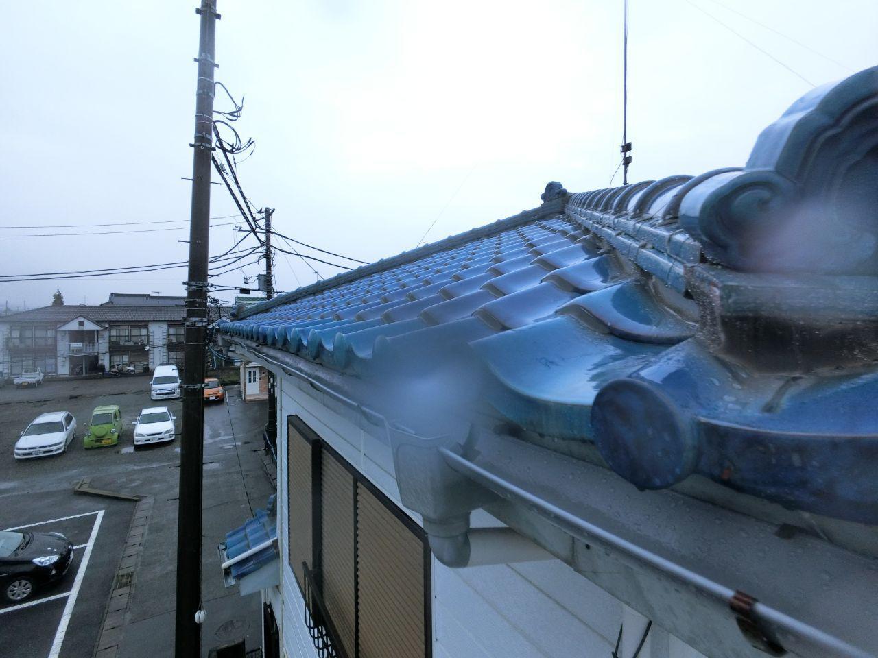 神奈川県愛甲郡で台風19号や大雪の被害!火災保険で雨どい工事!