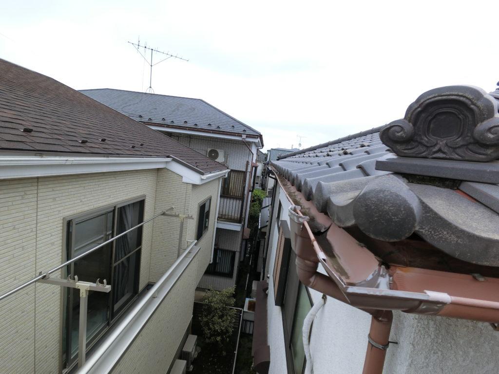 ふじみ野市で災害調査 雨どいの交換修理は弊社に