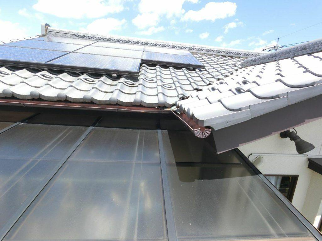 熊谷市で雨どい修理交換工事 銅板雨樋も交換可能