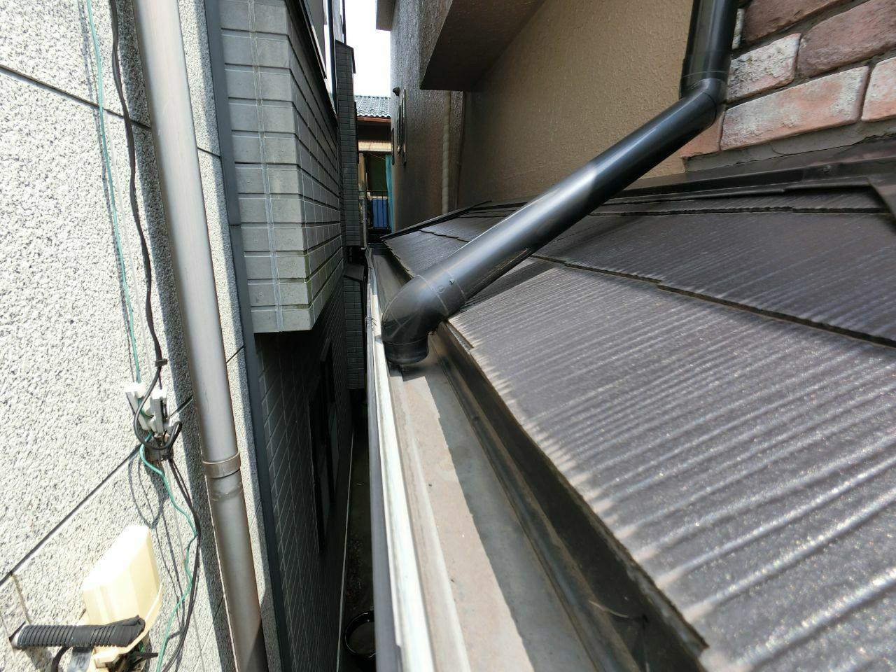 川崎市幸区で雪被害 屋根雨樋交換修理工事